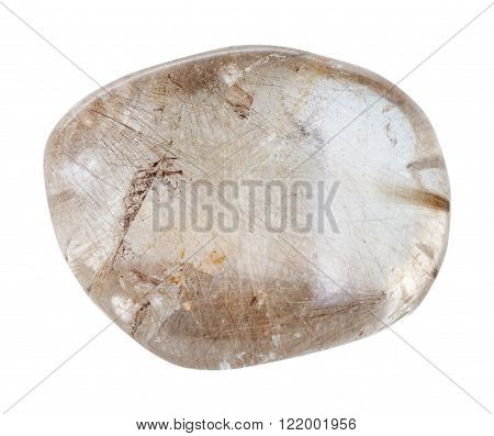 Polished Rutilated Quartz Mineral Gem Stone