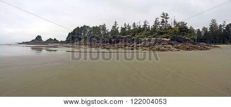 Picture taken on Cox Bay Beach near Tofino,BC,Canada.