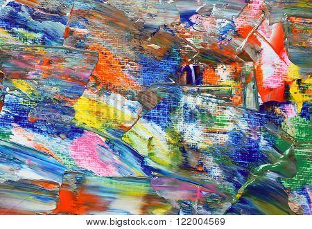 Art Background of the artist palette .