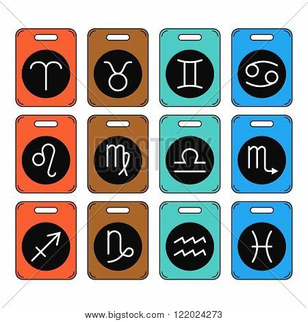 Signs of the zodiac for horoscope and predictions