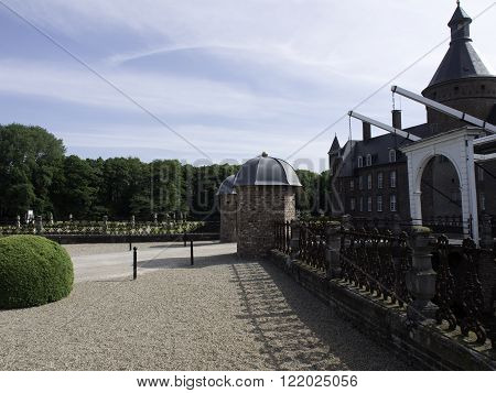 the Castle and the parc of anholt in germany