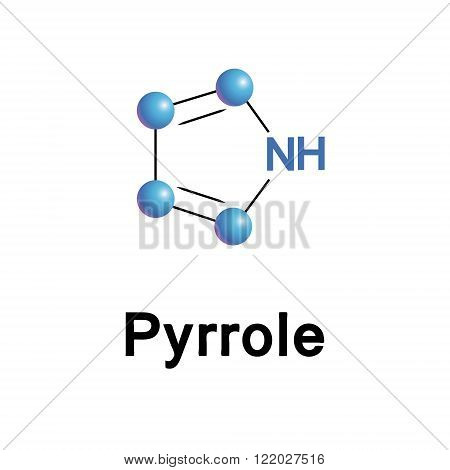 Pyrrole organic compound.