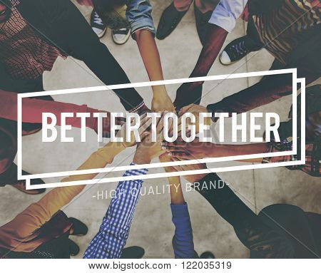 Better Together Unity Community Teamwork Concept
