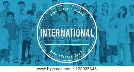 International Import Global Village Community Concept
