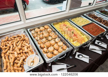 Buffet Of Western Dishes