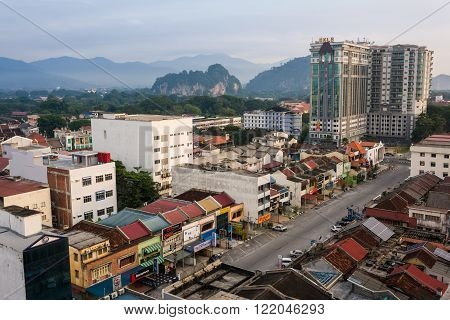 View Of Ipoh Town