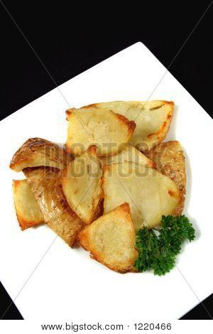 Oven Baked Potato Skins 1