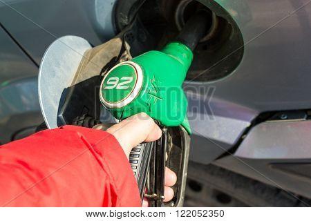 Gasoline Pump Handles