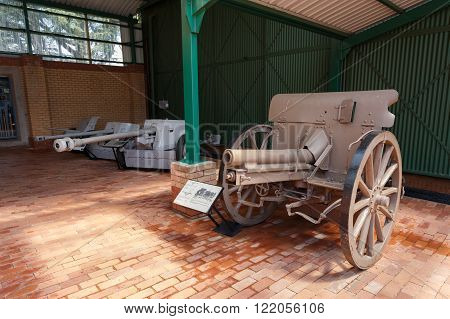 M06/12 Field Gun Germany 1907