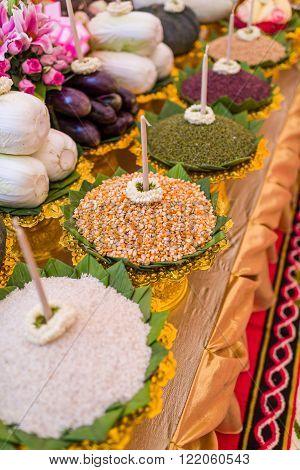 Prayer Offerings Of Food
