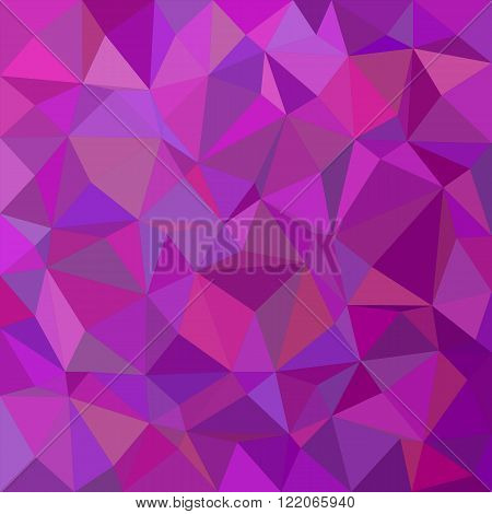 Purple irregular triangle mosaic vector background design