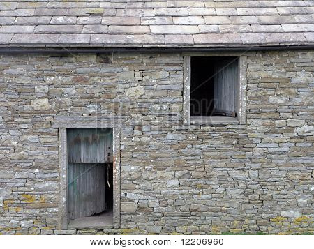 Farm building in Hawe, Yorkshire Dales, UK.