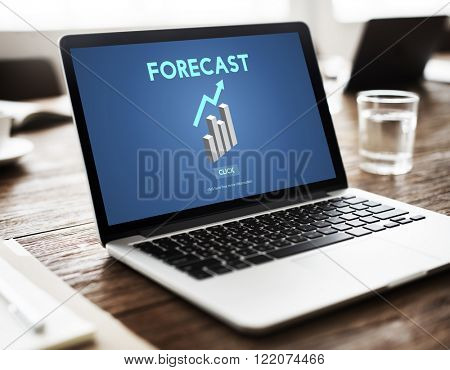 Forecast Future Planning Predict Stratgey Trends Concept