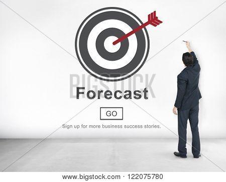 Forecast Estimate Future Planning Predict Strategy Concept