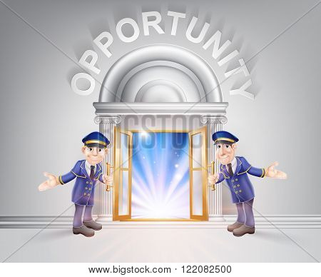 Door To Opportunity And Doormen