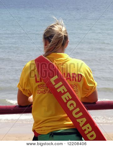Lifeguard lookout