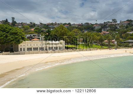 Balmoral Beach one of the northern beaches of Sydney