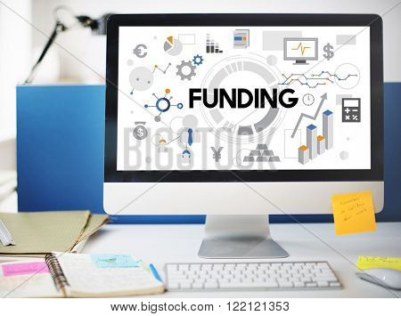 Funding Cash Collection Economy Finance Fund Concept