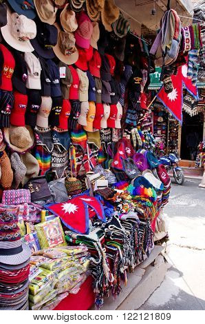 The Shop Sell Traditional Nepalese Handicrafts Goods