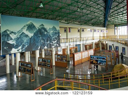 25 MARCH, 2014, POKHARA, NEPAL: Exhibition in International Mountain Museum
