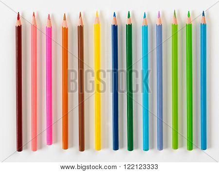 Set Of Thirteen Pencils