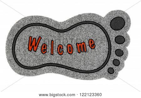 Welcome Floor Doormat