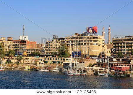 Aswan, Egypt On The Nile River