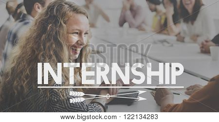 Internship Learning Career Preparation Concept