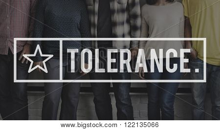 Tolerance Tolerate Toleration Indulgence Equality Concept