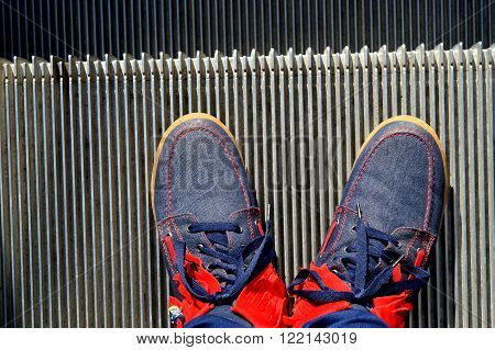 The photo with legs designed for many purposes. Turning point is under your feet