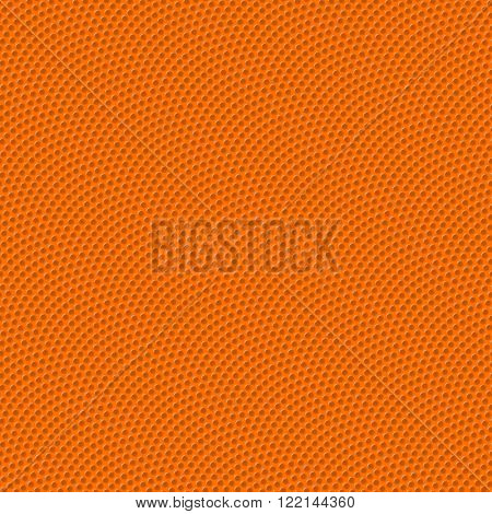 Basketball texture with bumps seamless vector illustration