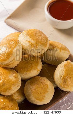 Empada Brazilian Snack. Pie With Chicken