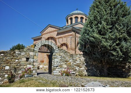 Amazing view of Medieval Monastery St. John the Baptist, Kardzhali,  Bulgaria