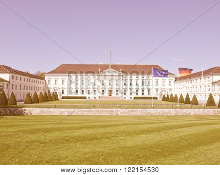 Schloss Bellevue, Berlin Vintage