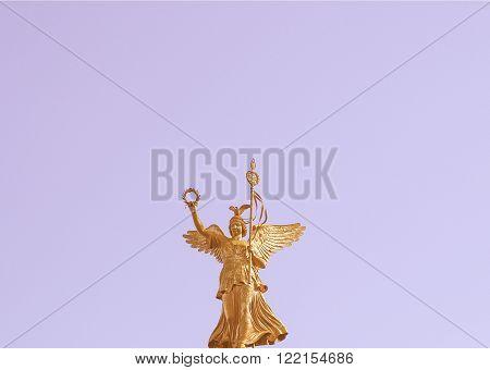 Berlin Angel Statue Vintage