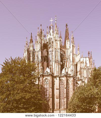 Koeln Cathedral Vintage