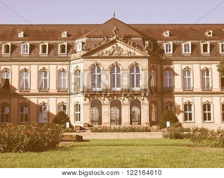 Neues Schloss (new Castle), Stuttgart Vintage