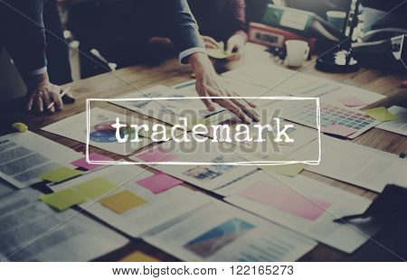 Trademark Identity Product Brand Patent Value Concept