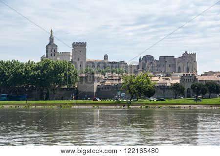 Popes Palace is the main historical site in Provence and one of the largest and most important medieval gothic buildings in Europe