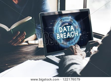 Data Breach Hacker Information Incursion Concept