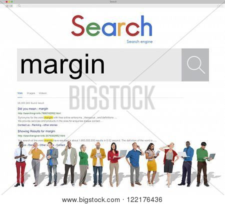 Margin Account Profit Boundery Perimeter Concept