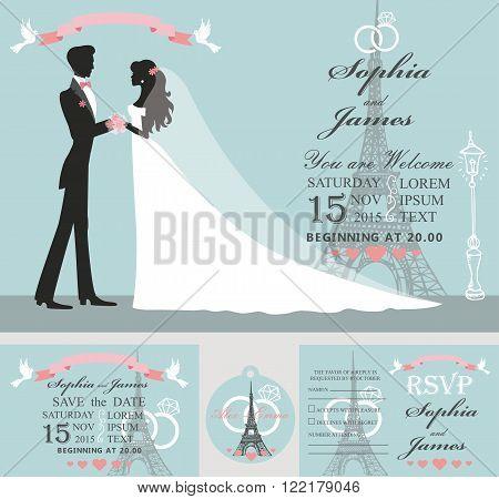 Bride and groom silhouette images stock photos illustrations bigstock - Salon des seniors paris invitation ...