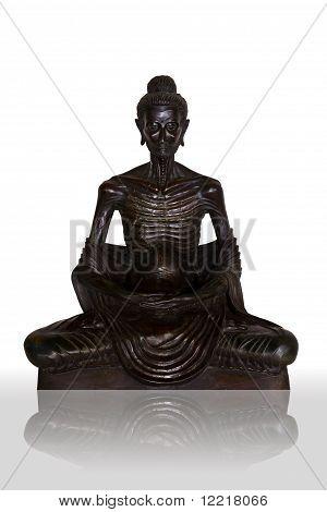 Buddha Attitude Subduing Himself Image