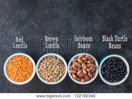Beans And Grains Varieties