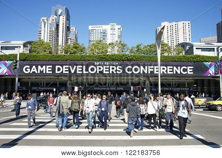 Game Developers Convention 2016 Entrance.