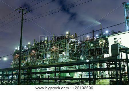 Industry building in kawasaki