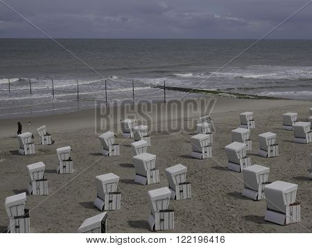 the Island of wangeroorge at the german coast