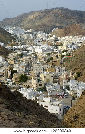 Muscat capital of sultanate Oman Middle East