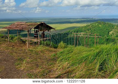 this hut is taking place in lebak naga or hill of dragon