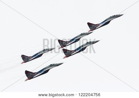 Russia Aerobatic Team Strizhi